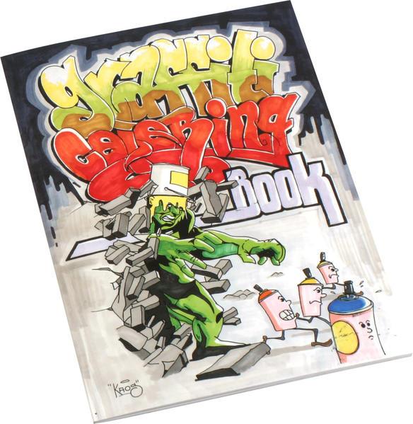 Graffiti Coloring Book als Taschenbuch von
