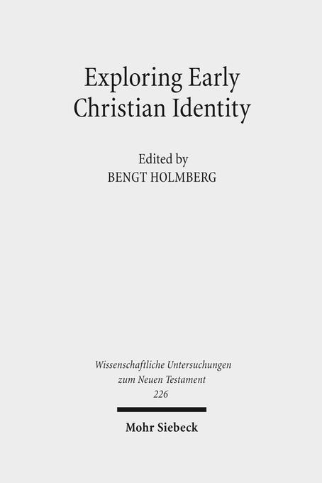 Exploring Early Christian Identity als Buch von