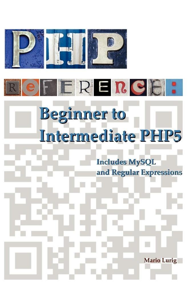 PHP Reference als Taschenbuch von Mario Lurig