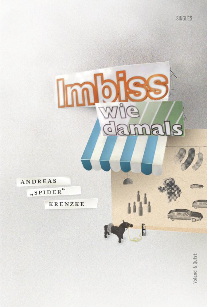 Imbiss wie damals als Buch von Andreas Krenzke,...