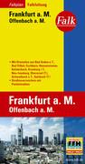 Falk Falkplan Falkfaltung Frankfurt a.M. / Offenbach a.M. 1 : 16 500 - 1 : 27 500