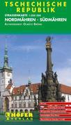 Höfer Tschechische Republik CS006. Nordmähren - Südmähren 1 : 200 000. Straßenkarte