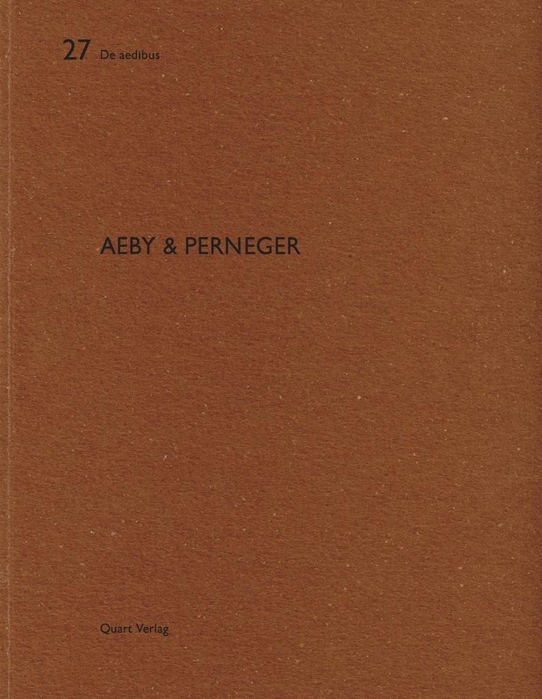 Aeby & Perneger als Buch von