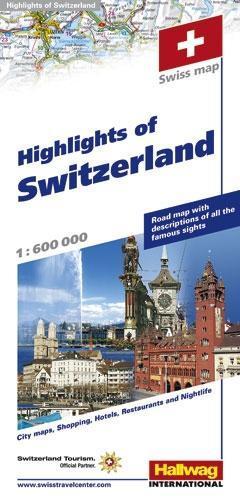 Highlights of Switzerland 1 : 600 000 als Buch von
