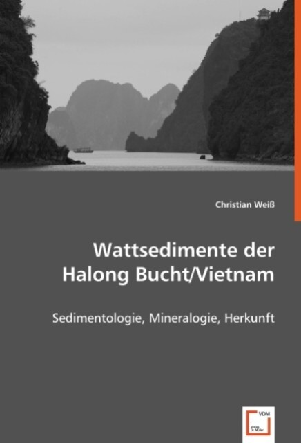 Wattsedimente der Halong Bucht/Vietnam als Buch...