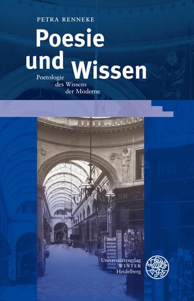 Poesie und Wissen als Buch von Petra Renneke