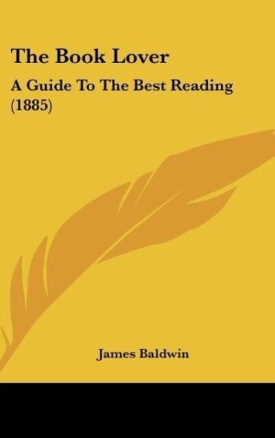 The Book Lover als Buch von James Baldwin