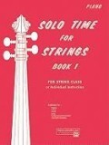 Solo Time for Strings: Piano Acc.