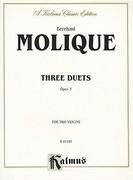 Bernhard Molique: Three Duets, Opus 3