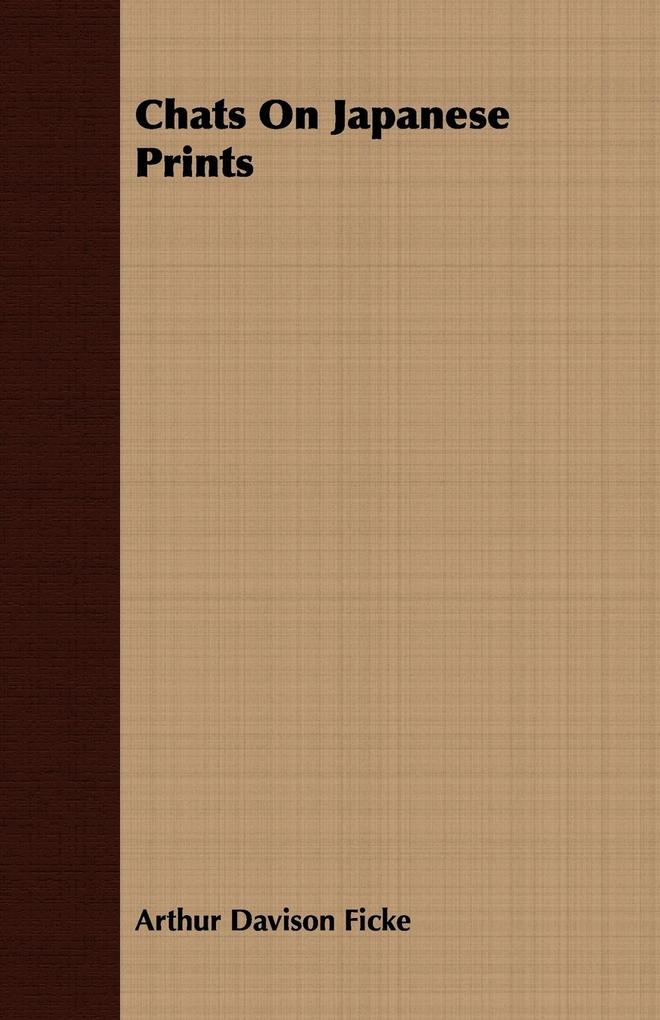 Chats On Japanese Prints als Taschenbuch von Ar...