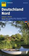 ADAC Länderkarte Deutschland Nord 1 : 500 000
