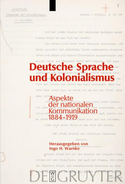 Deutsche Sprache und Kolonialismus als Buch von