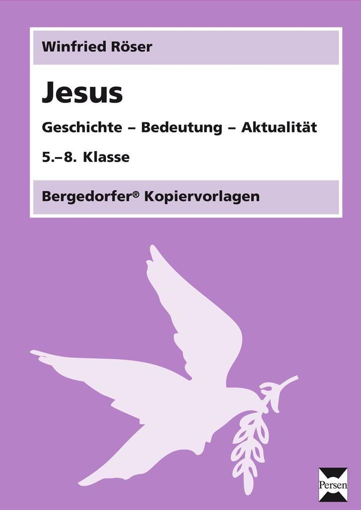 Jesus als Buch von Winfried Röser