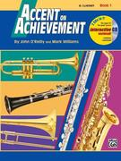 Accent on Achievement, Bk 1: Combined Percussion---S.D., B.D., Access. & Mallet Percussion, Book & CD