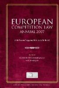 European Competition Law Annual 2007 als Buch von