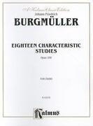 Eighteen Characteristic Studies, Op. 109