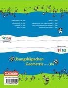 Mathematik plus. 3./4. Schuljahr - Übungshäppchen Geometrie. Grundschule - Raum und Form