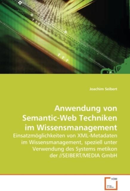 Anwendung von Semantic-Web Techniken im Wissens...