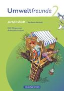 Umweltfreunde 2. Schuljahr. Arbeitsheft mit Einleger. Sachsen-Anhalt. Neubearbeitung 2009