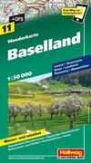 Wanderkarte Baselland 1 : 50 000