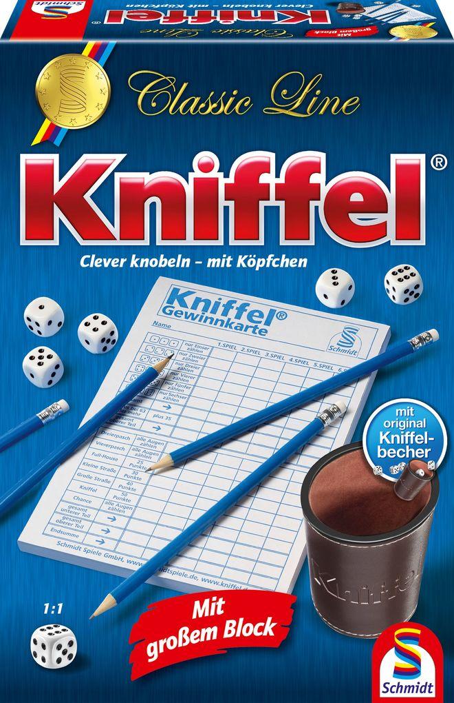 Schmidt Spiele - Classic Line - Kniffel als Spielware