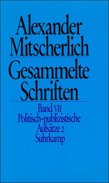 Politisch publizistische Aufsätze II als Buch v...