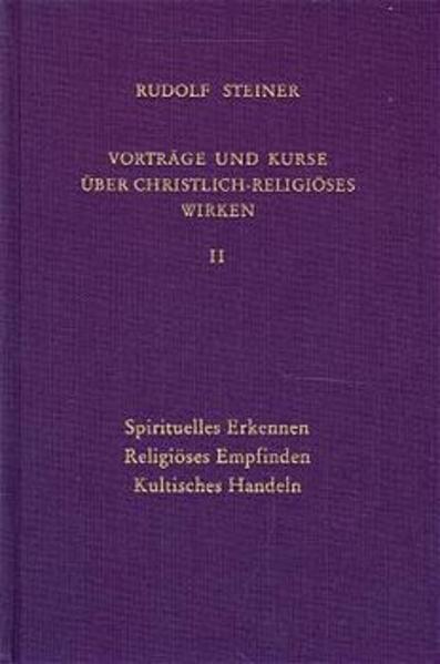 Vorträge und Kurse über christlich-religiöses Wirken 2 als Buch