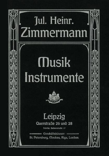 Musik-Instrumente-Katalog als Buch von Julius H...