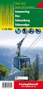 Semmering - Rax - Schneeberg - Schneealpe 1 : 50 000. WK 022
