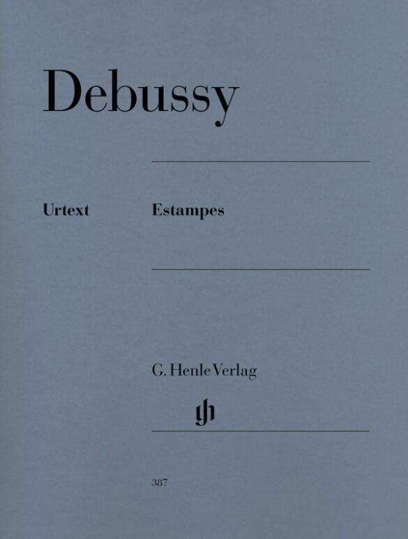 Estampes als Buch von Claude Debussy