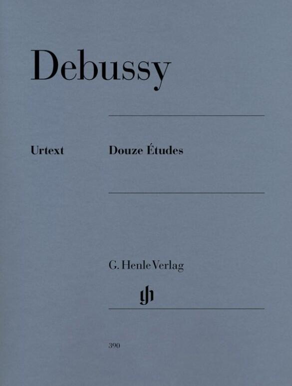 Douze Etudes als Buch von Claude Debussy