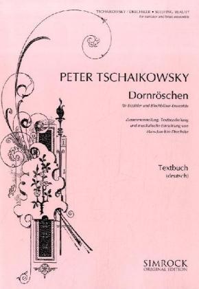 Dornröschen als Buch von Peter Iljitsch Tschaik...
