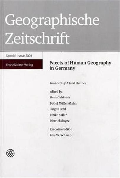 Geographische Zeitschrift als Buch von