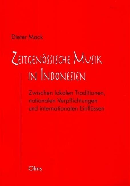 Zeitgenössische Musik in Indonesien als Buch vo...