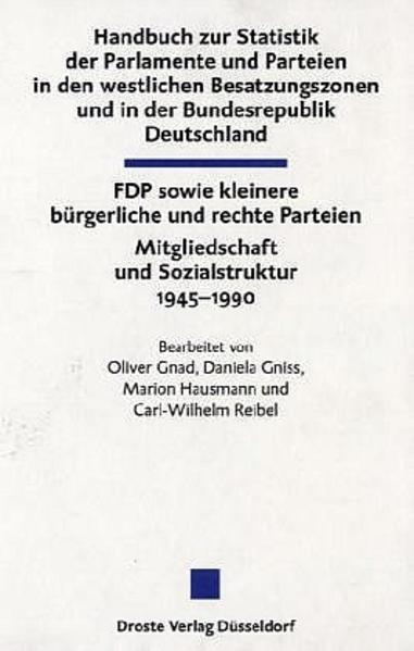 Handbuch zur Statistik der Parlamente und Parte...