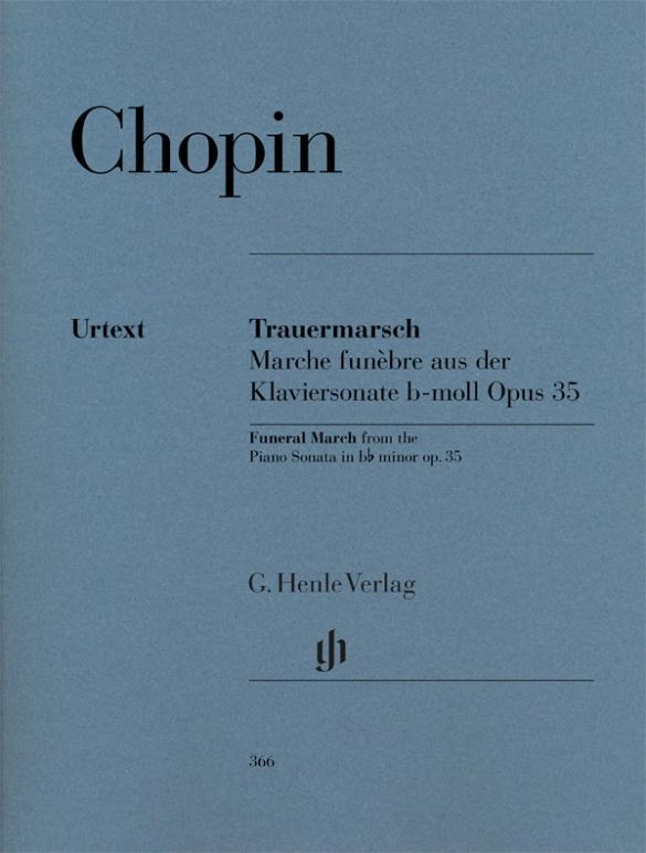 Trauermarsch aus der Klaviersonate op. 35 [Marche funèbre] als Buch (kartoniert)
