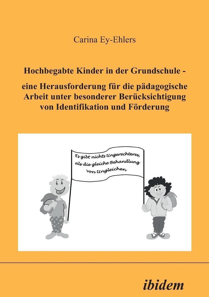 Hochbegabte Kinder in der Grundschule als Buch ...