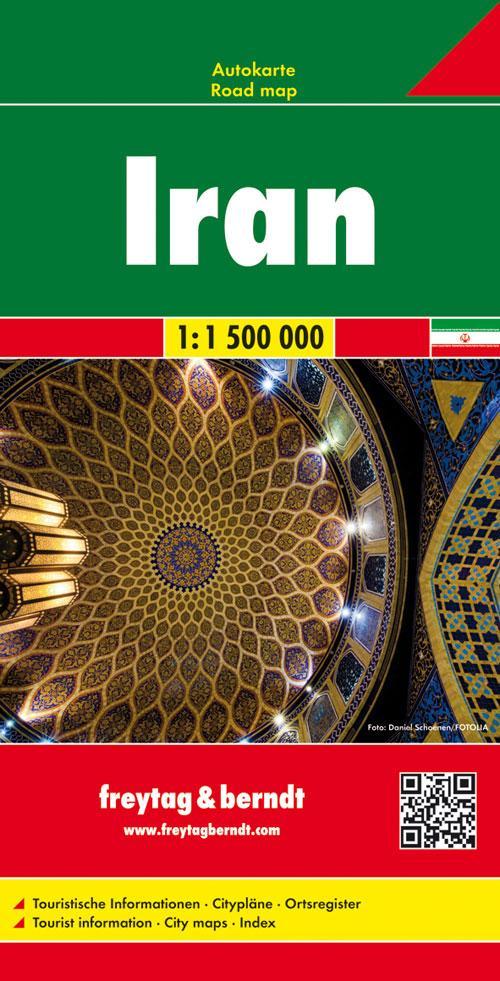 Iran,Autokarte 1:1.500.000 als Buch von