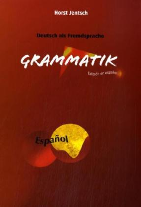 Deutsch als Fremdsprache, Grammatik als Buch vo...