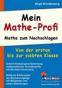 Mein Mathe-Profi Mathe zum Nachschlagen (bis 7. Schuljahr)