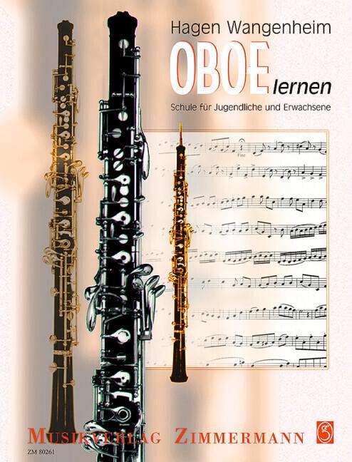 Oboe lernen als Buch von Hagen Wangenheim
