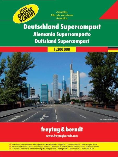 Deutschland Supercompact Autoatlas 1 : 300 000 ...