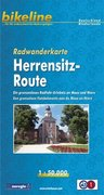 Bikeline Radwanderkarte Herrensitz-Route 1 : 50 000