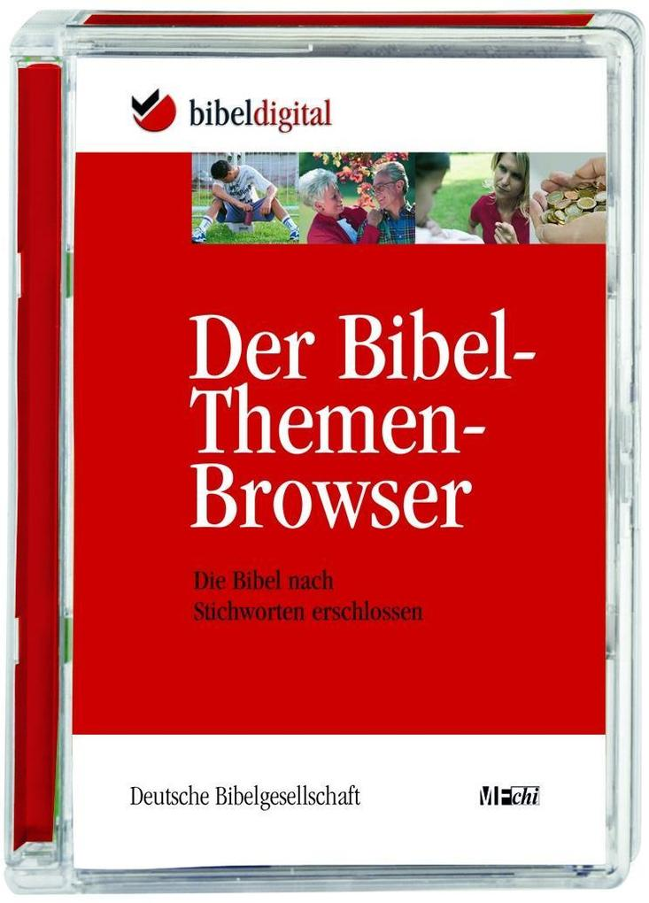 Der Bibel-Themen-Browser, 1 CD-ROM