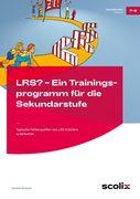 LRS ? Ein Trainingsprogramm für die Sekundarstufe