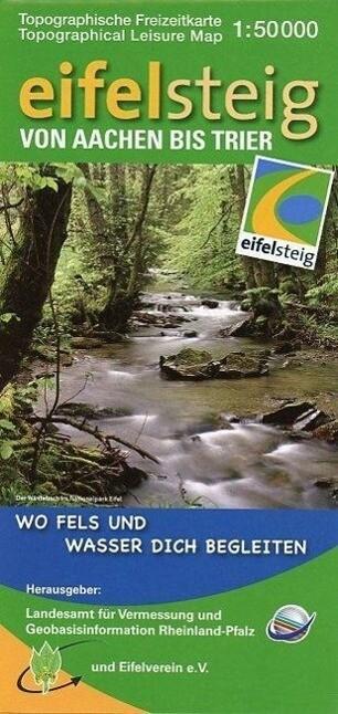 Eifelsteig von Aachen bis Trier 1 : 50 000 als ...