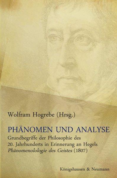 Phänomen und Analyse als Buch von
