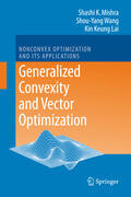 Generalized Convexity and Vector Optimization