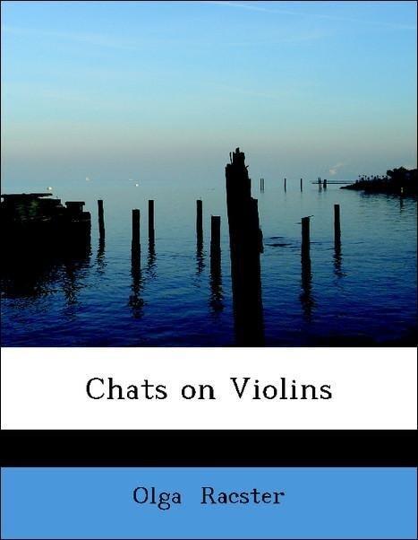Chats on Violins als Taschenbuch von Olga Racster