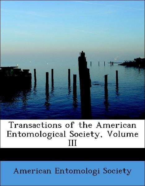 Transactions of the American Entomological Soci...